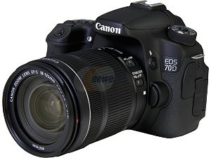 Canon 60D with Lens